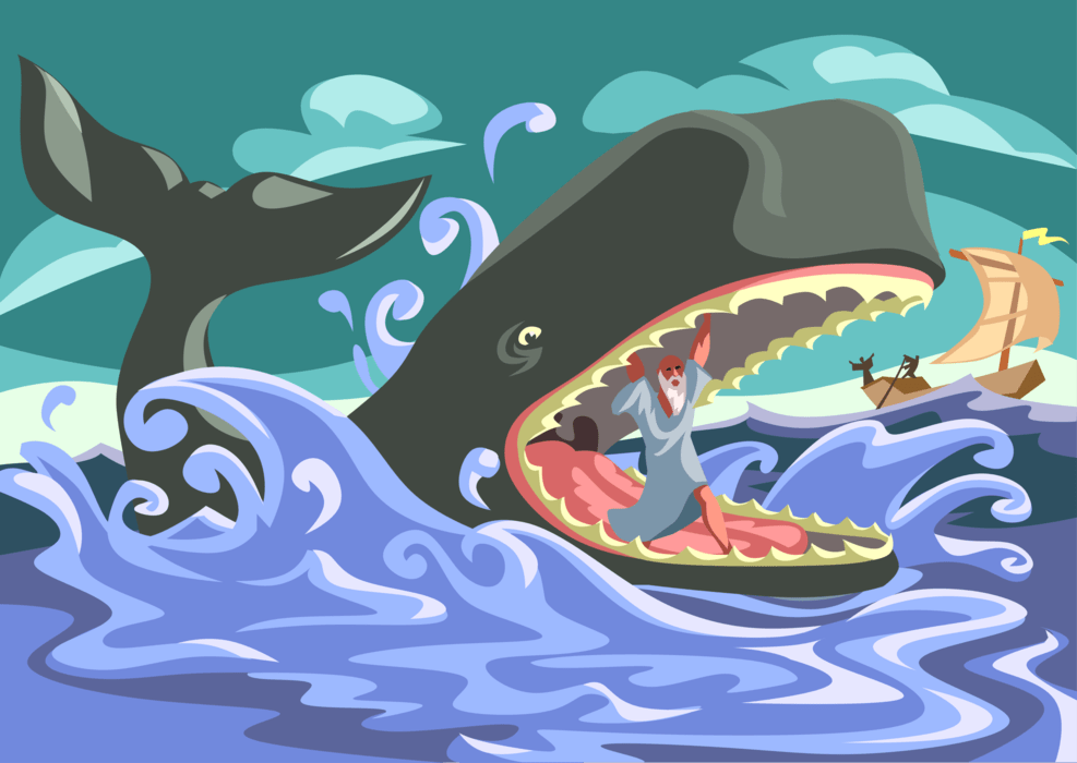 Jonah and The Whale Story for Kids