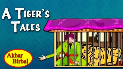 Birbal and Tiger's Cage Story-Akbar Birbal Story in English