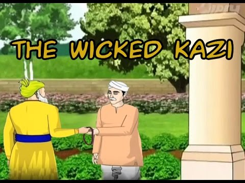 The Wicked Kazi-Akbar Birbal Story in English