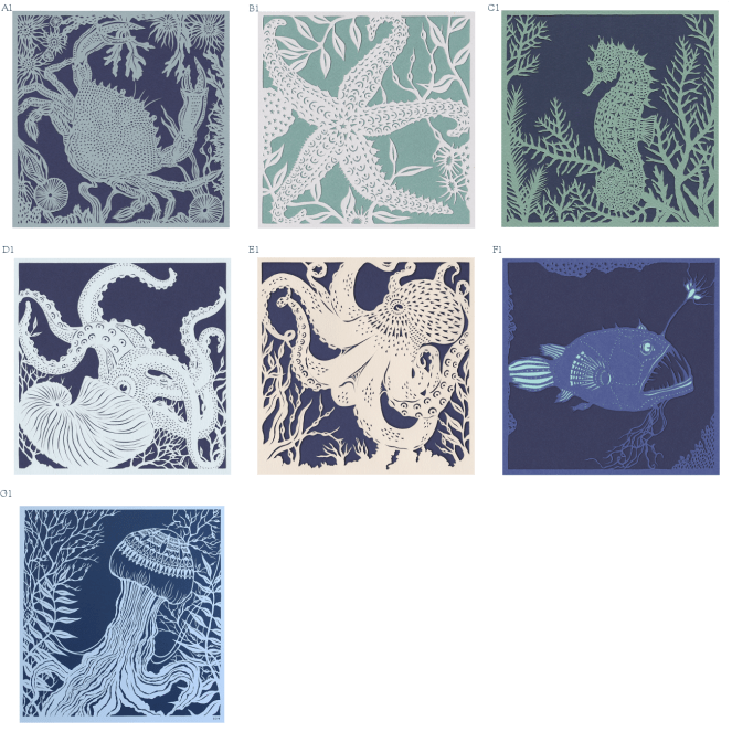 Sea Creature grid