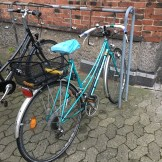 """A lady said """"Det er en flot cykel!"""" and I was really proud because I knew what she was saying and because she said my bike is beautiful!"""