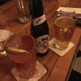 Beers and cocktails at Barking Dog