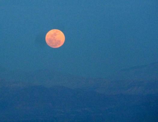 Dead Sea Moon Rising