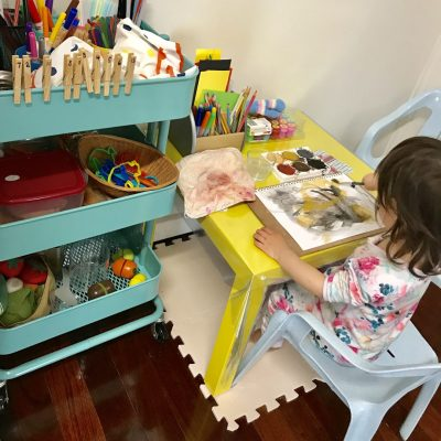 A Dedicated Art Space in the Home (Part 2) – 10 Skills Children Gain From Having A Space to Create Independently