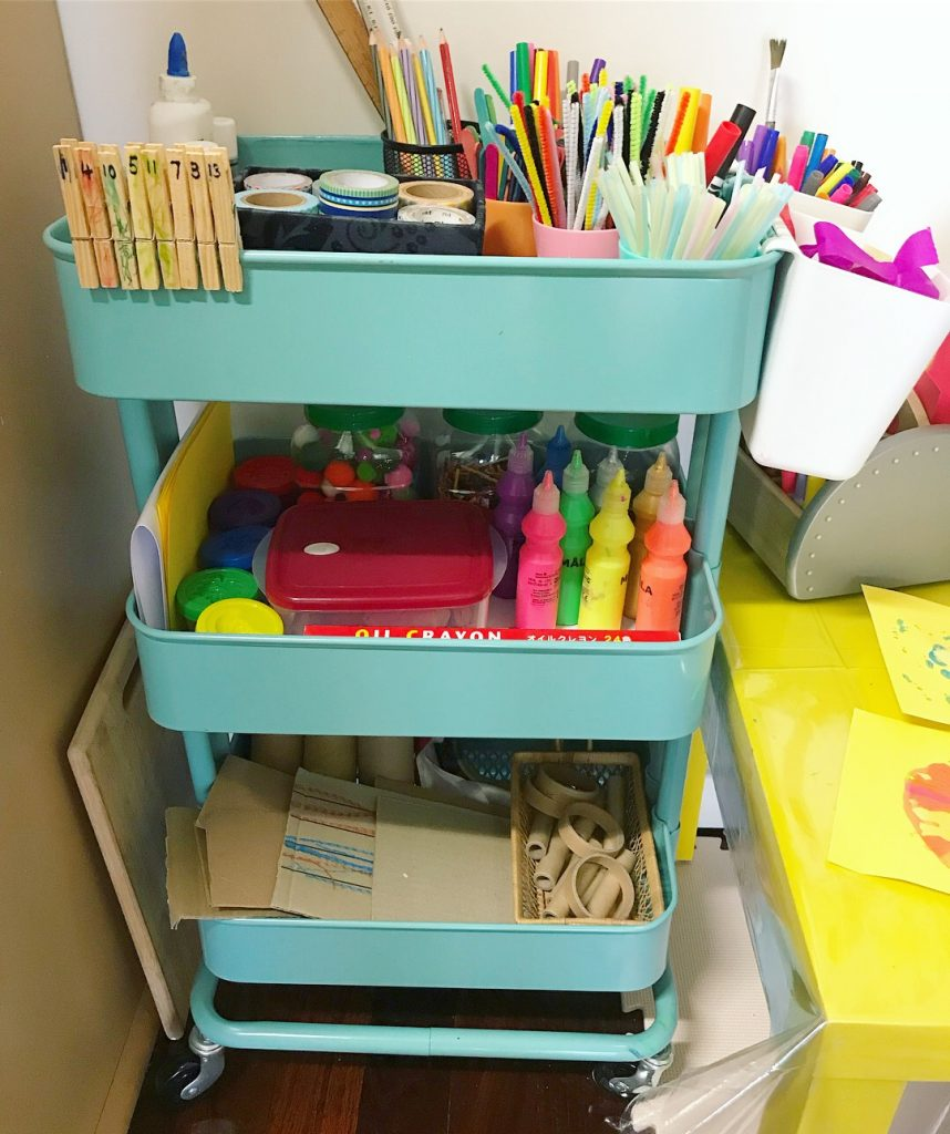 art supplies - recyclables