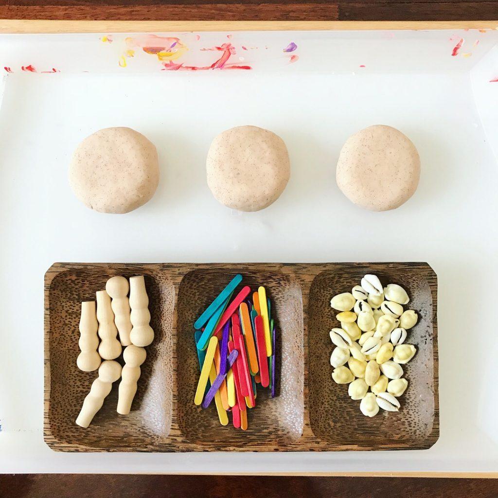 art materials - playdough