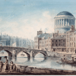 Historical Views of the Four Courts - East Side