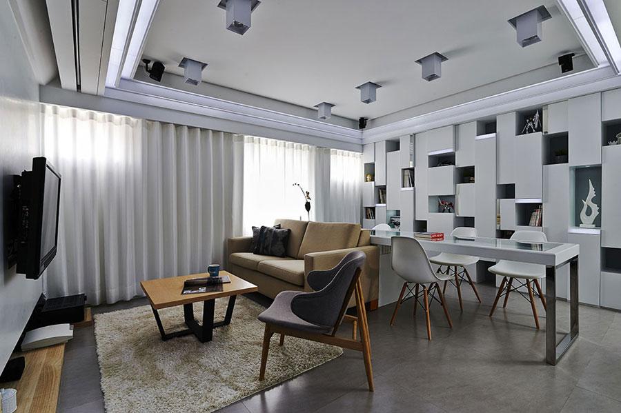 The definition of contemporary interior design using ...