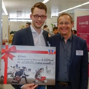 STORITY gewinnt Gründerpreis der B2B NORD Messe