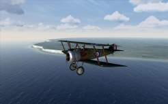Flying over the Cliffs of Dover