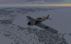 Landing at the frozen base