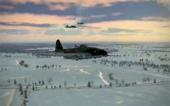 These IL-2s are often packing the field modified gun turret!