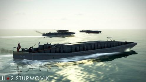 Marinefährprahm landing craft