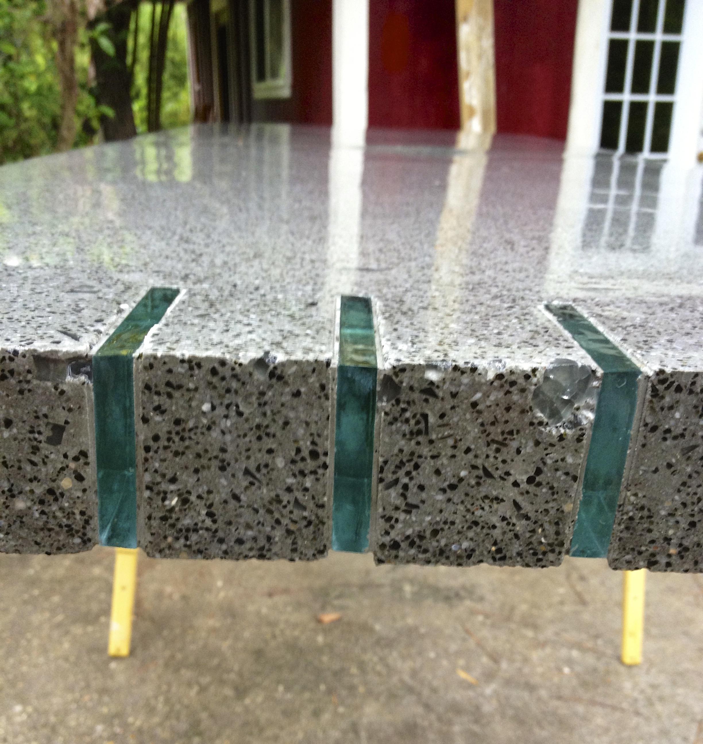 Concrete Countertop Project Michael Eddy Artist