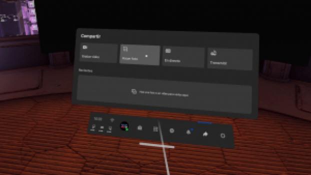 Capturar pantalla realidad virtual Quest