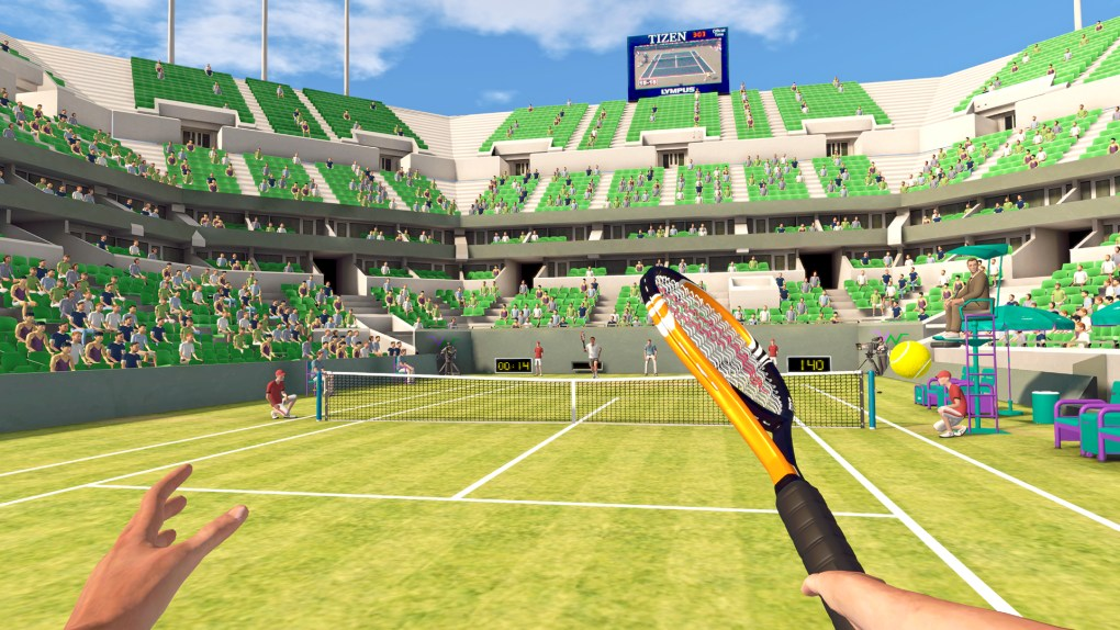 First Person Tennis Oculus Quest