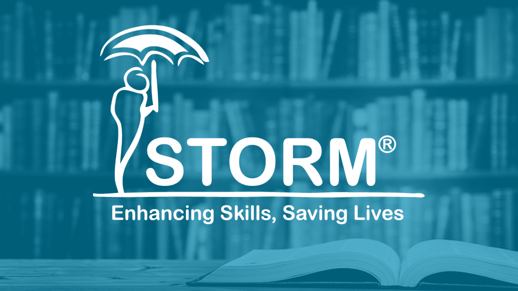 STORM Logo with Academic Research Library Photo