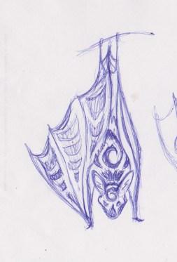 bat design sketch
