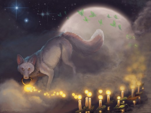 Candleight Digital Painting By Stormslegacy