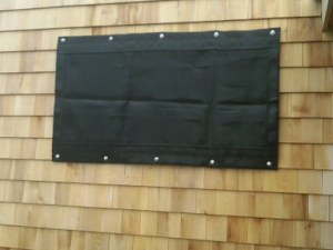 grommet method of Storm Protection System deployment - Vero Beach