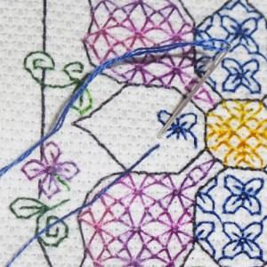 stitching straight