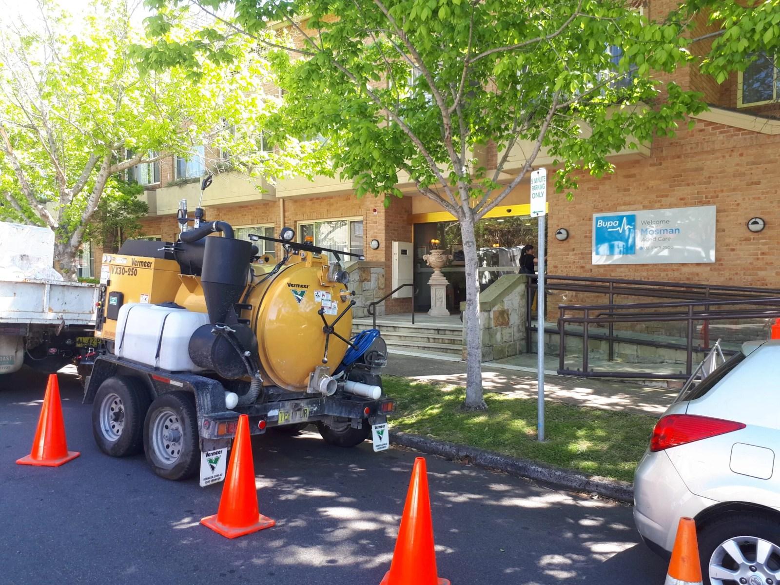 Mosman Stormwater maintenance at Mosman