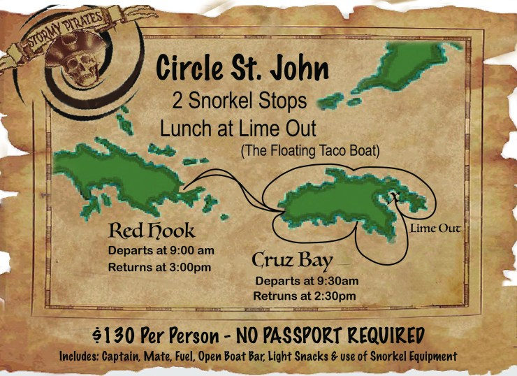 Circle STJ old map