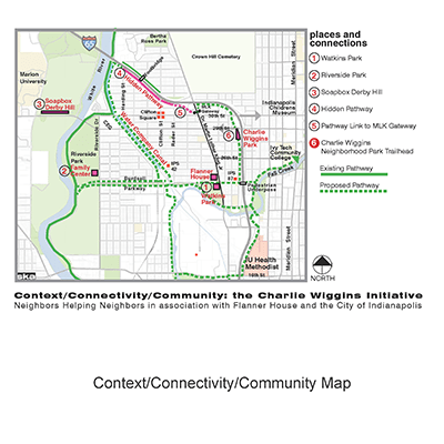 NW Area Connections Map