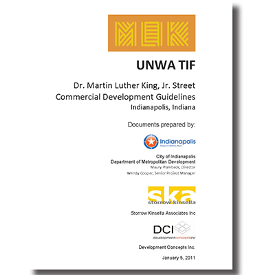 Dr. Marting Luther King, Jr. Street  Commercial Development Guidelines