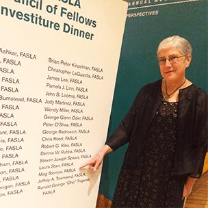 Meg Storrow, Fellow Investiture Dinner, Chicago, IL, November 2015