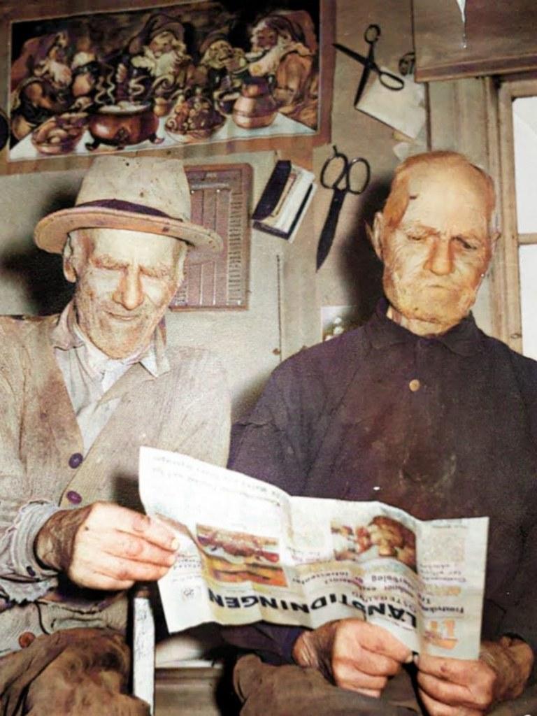 Per och Harald Sjöberg