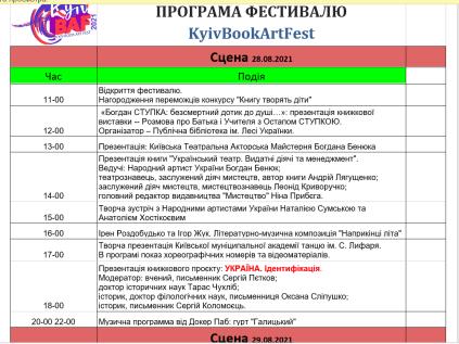 Kyiv BAF 2021