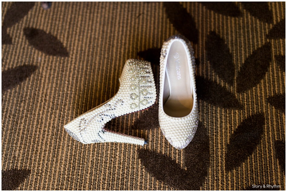 Pretty Wedding Shoes Part 2 Raleigh Photographer And Dj