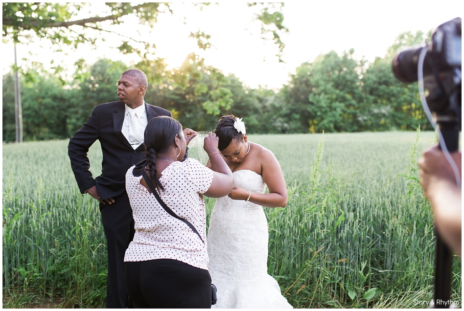 Behind the scenes with Story and Rhythm wedding photographer and DJ_0314