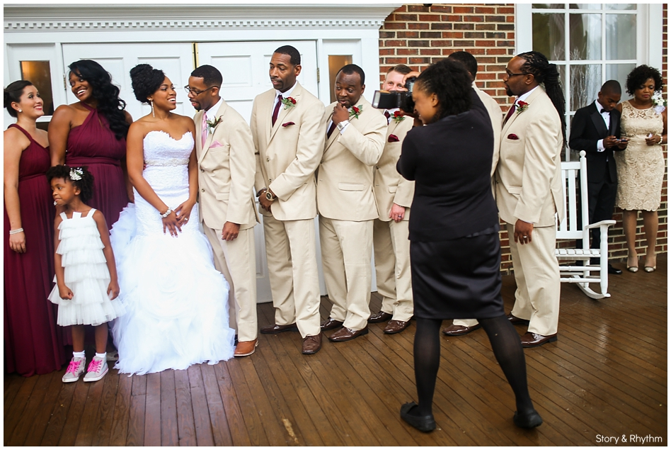 Behind the scenes with Story and Rhythm wedding photographer and DJ_0325