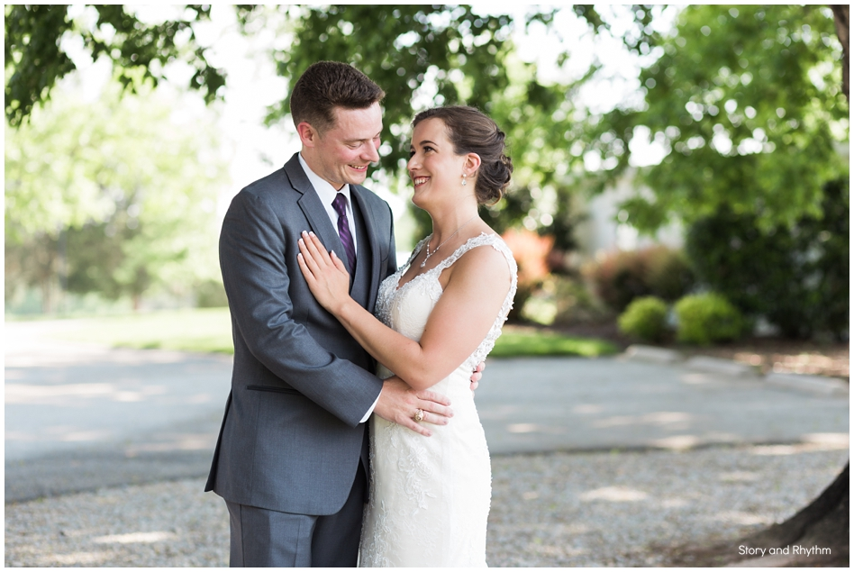 wedding at Rand Bryan House