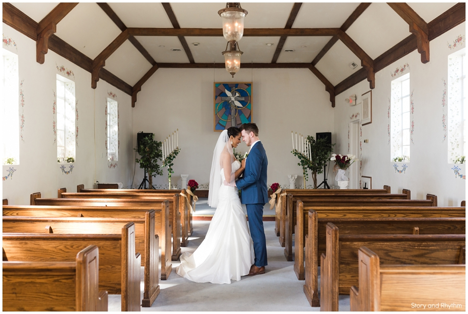 White Dove Chapel wedding