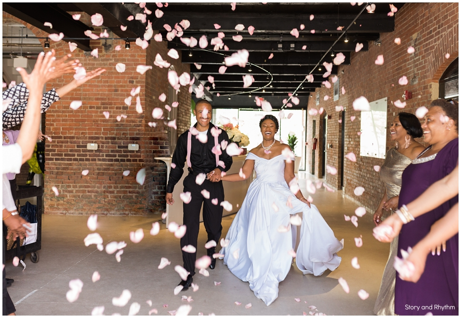 Wedding at Cotton Room Durham NC