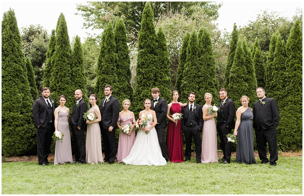 THE INN AT CRESTWOOD IN BLOWING ROCK, NC bridal party