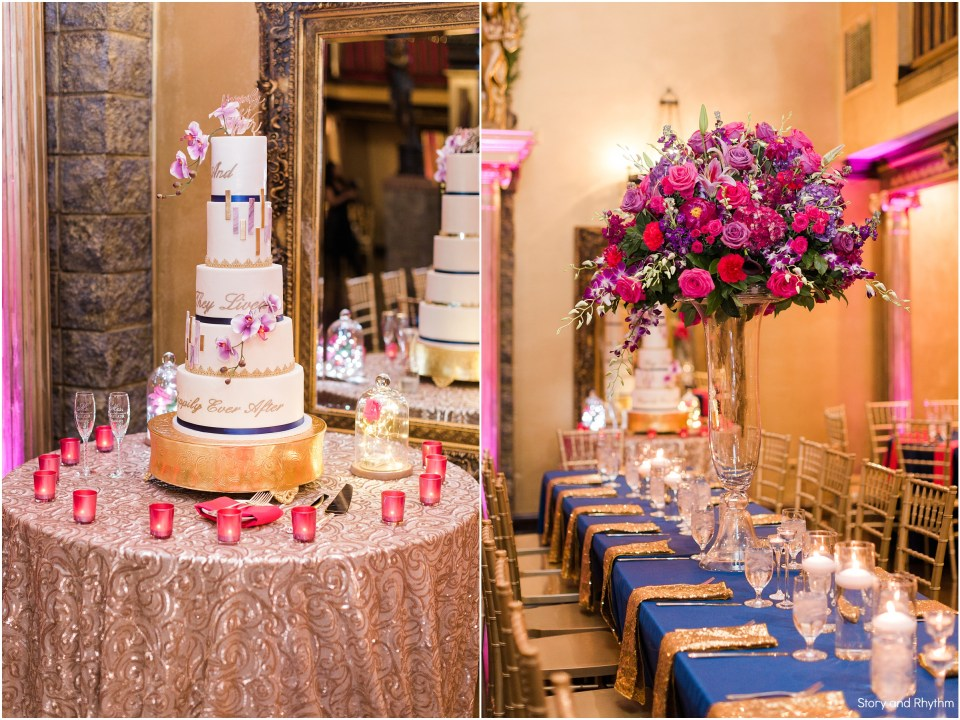 Wedding reception at Barclay Villa