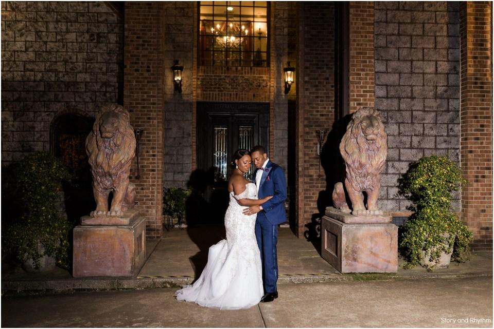 Wedding photographers at Barclay Villa