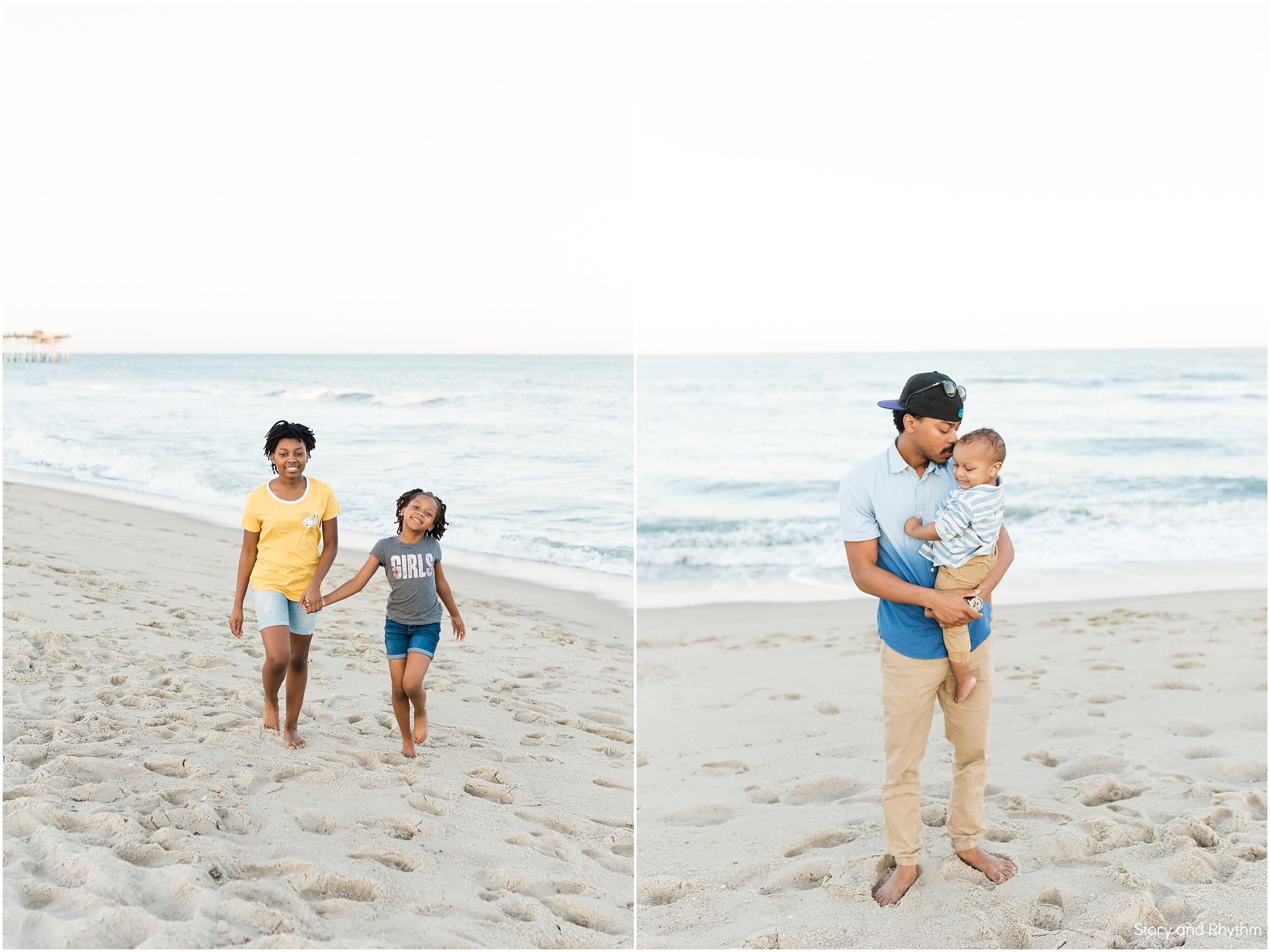 Family Trip to Kure Beach | Raleigh Wedding Photographer