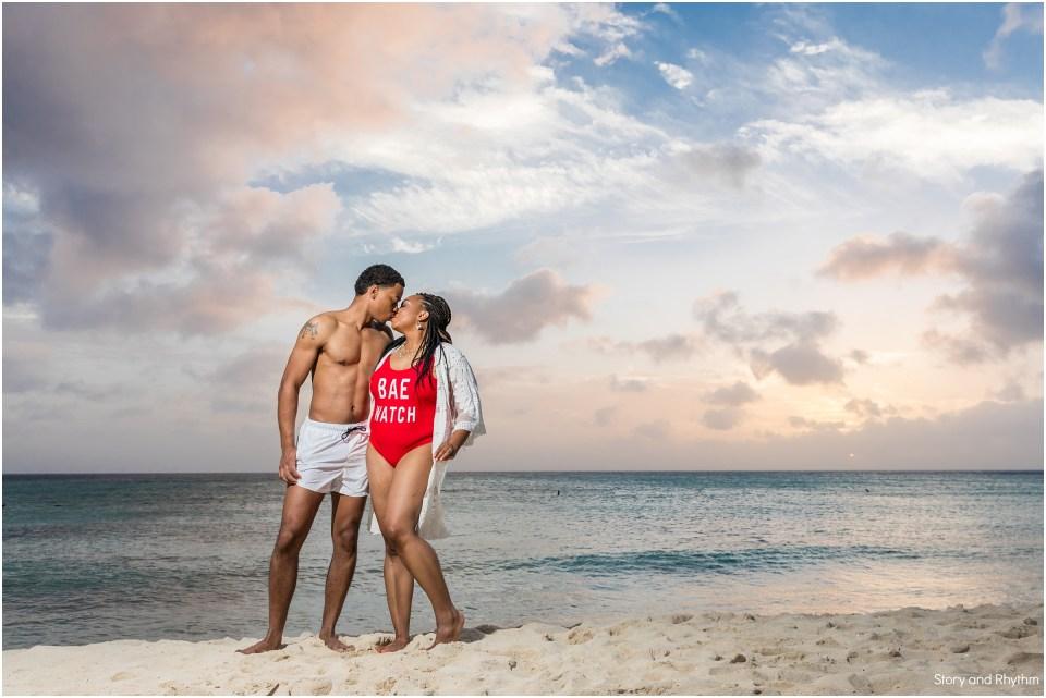 Couples photos in Aruba
