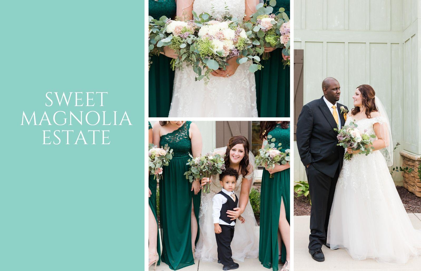 Sweet Magnolia Estate Wedding Raleigh Wedding Photographer