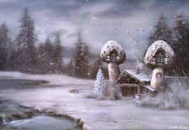 Snow Shroom At The Inn