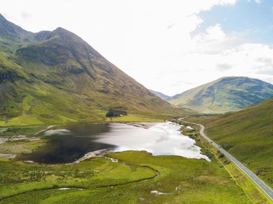 travelling as a writer in Lake District