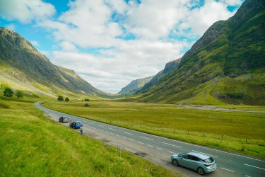 travelling as a writer in Glencoe