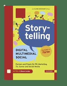 Buch Storytelling Digital Multimedial Social
