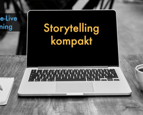 Online-Livetraining Storytelling kompakt - Grundlagen