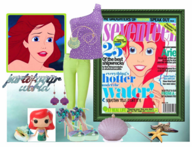 Ariel Outfit on Polyvore by MissSally
